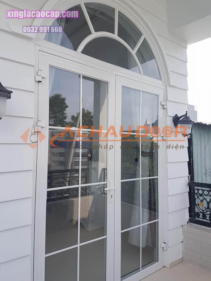cửa nhôm kính sơn tĩnh điện cao cấp