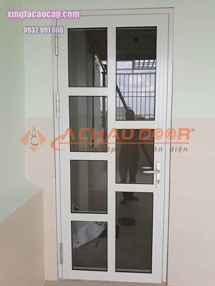 cửa nhôm kính 1 cánh đẹp