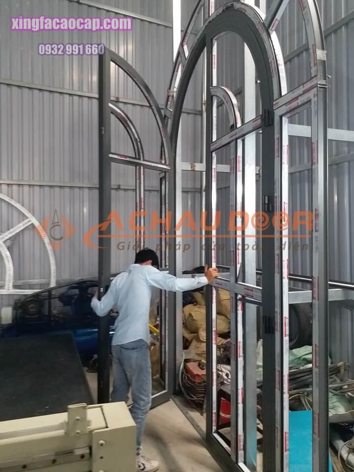 Sản xuất, thi công trọn gói cửa nhôm Xingfa chính hãng