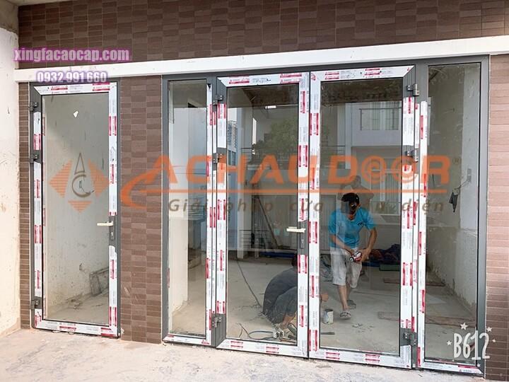 Lắp đặt hoàn thiện cửa nhôm Xingfa