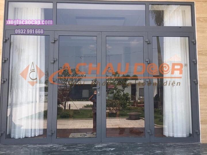 phân loại các mẫu cửa nhôm Xingfa 4 cánh đẹp cho cửa đi