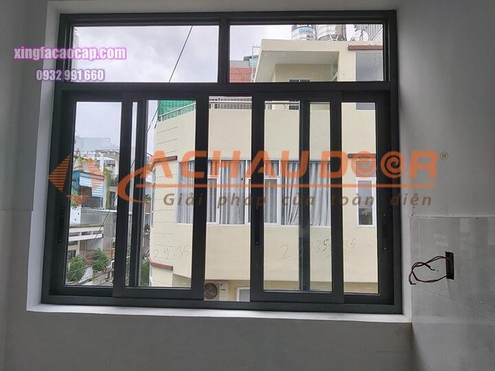 Cửa sổ mở lùa nhôm Xingfa