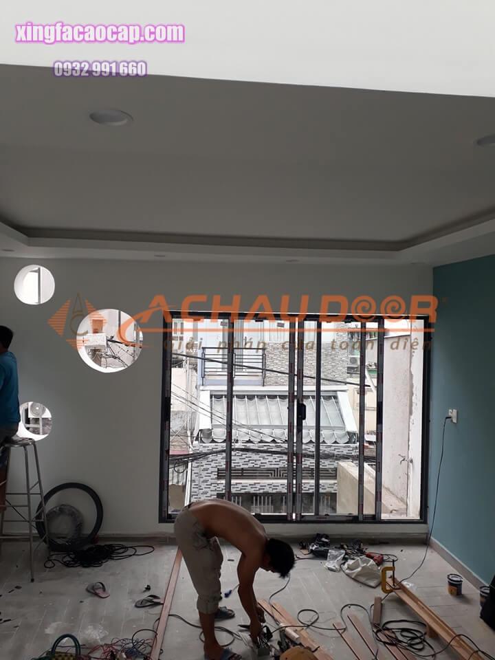 Cửa sổ mở lùa nhôm Xingfa cao cấp