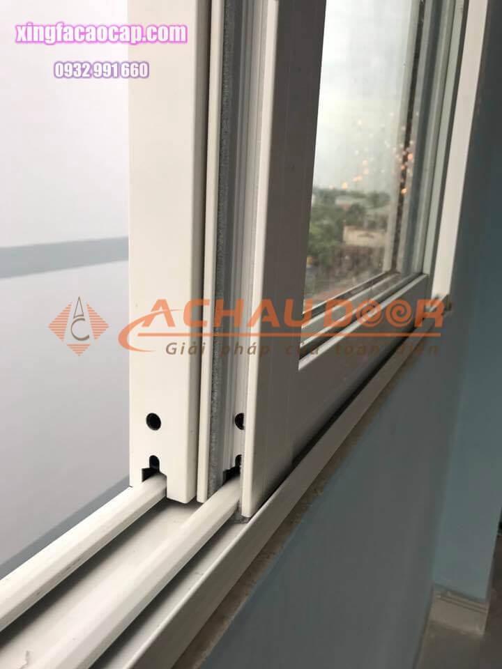 cửa sổ mở lùa nhôm Xingfa 2 cánh