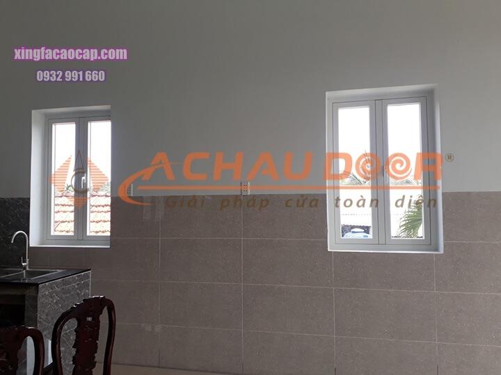 Công trình cửa sổ mở quay 2 cánh tại Gò Vấp