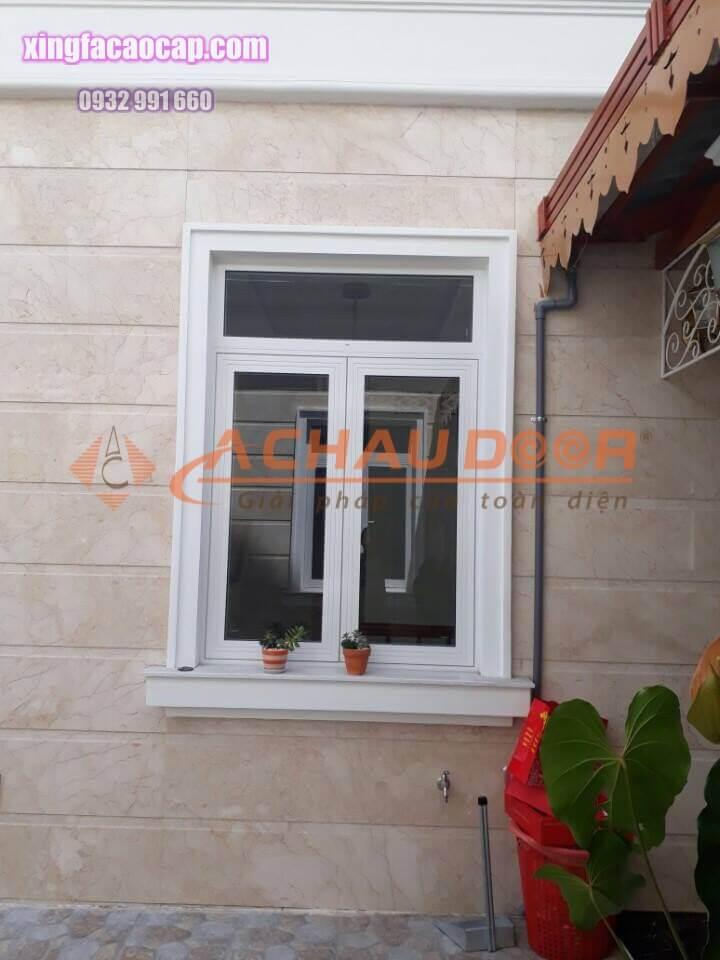 Cửa sổ mở quay nhôm Xingfa 2 cánh