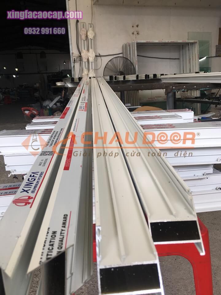 Thanh profile nhôm Xingfa nhập khẩu chính hãng