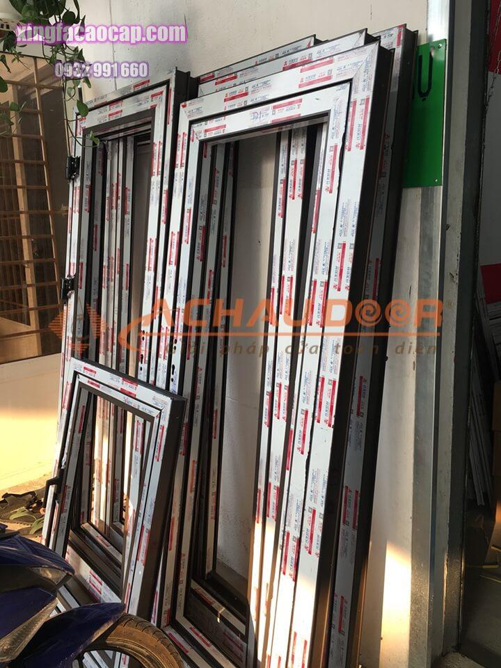 khung cửa sổ nhôm Xingfa chính hãng