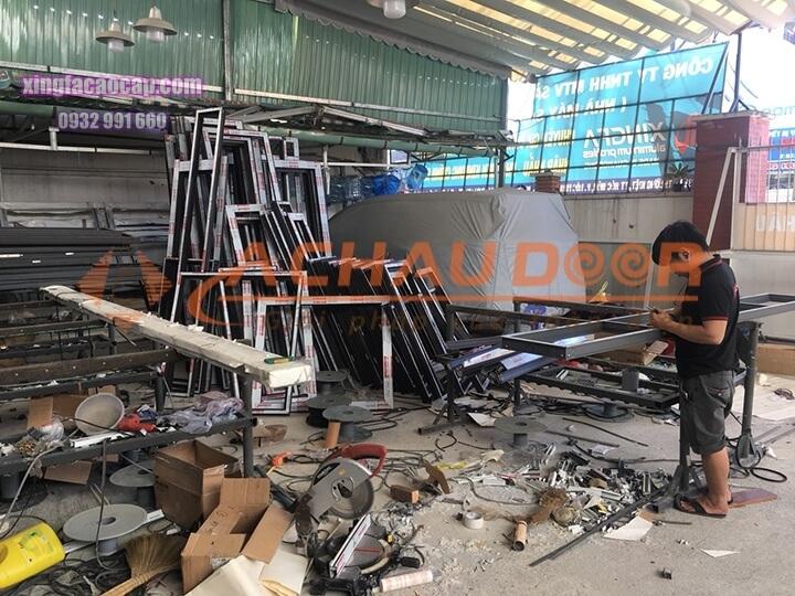 nhà máy sản xuất cửa nhôm Xingfa
