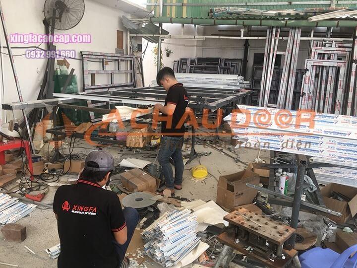 Nhà máy sản xuất cửa nhôm Xingfa chính hãng