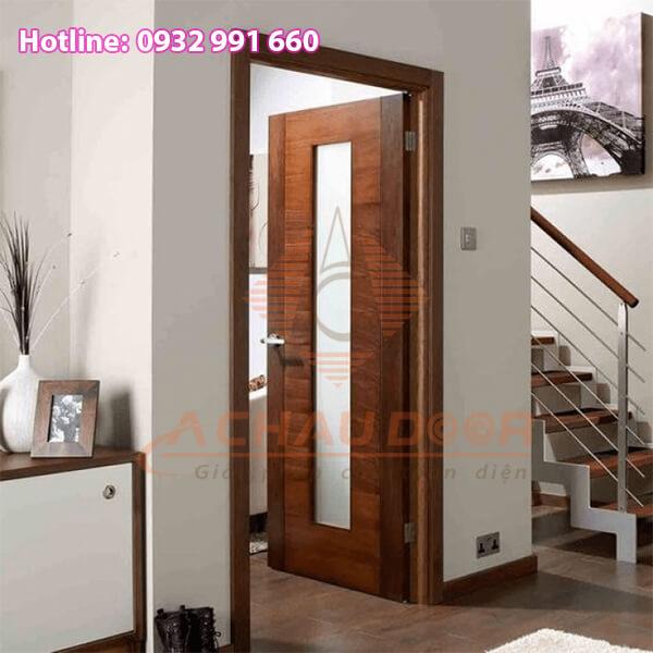 Cửa nhôm thiết kế giả gỗ