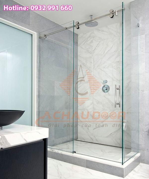 phòng tắm vách kính đẹp