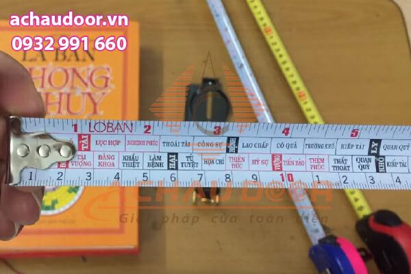 Thước lỗ ban 38,8 cm