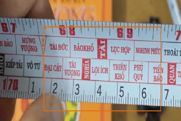 Thước lỗ ban 42,9 cm