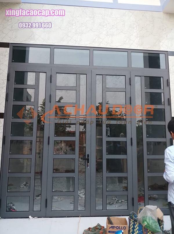 Cửa nhôm Xingfa 4 cánh đẹp